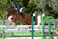 Maxime Livio (FRA) riding Tina De La Fieffe taking part in the two star  Show Jumping at the 2016 les Etoiles de Pau