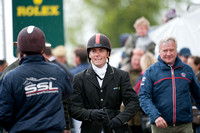Paul Tapner After his Winning Show Jumping Round
