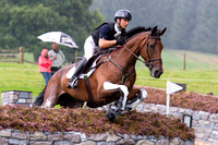 Luca Roman of Italy riding Castlewoods Jake
