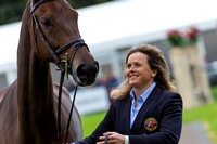 Pippa Funnell of Great Britain with Sandman 7