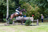 Aimee Penny of Great Britain riding  HIRONDELLE DE FRIBOIS B