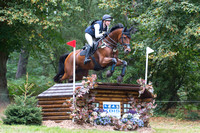 Chloe Astill of Great Britain riding  DARIO