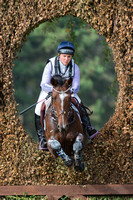 Gemma Tattersall of Great Britain riding  SHANNONDALE MEL