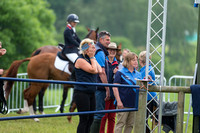 Gemma Tattersall's Mother watches her Show Jumping Round