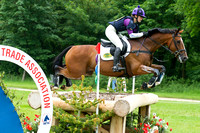 Jodie Stokes (GBR) riding Mister Maccondy