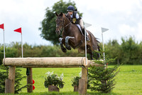 Emily Galbraith riding Fernhill In Action