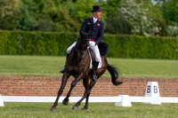 Oliver  Townend (GBR) riding  Black Tie II