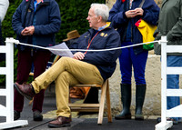 Ian Stark at the trot up