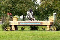GINA RUCK (GBR) REHY TOO TAKING PART IN THE ERM CIC THREE STAR CROSS COUNTRY AT THE SSANGYONG BLENHEIM PALACE INTERNATIONAL HORSE TRIALS