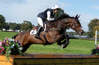 SAMANTHA HOBBS (GBR) AND SEAPATRICK NARCO TAKING PART IN THE BLOOMFIELDS CCI ONE STAR AT THE 2017 OSBERTON INTERNATIONAL HORSE TRIALS