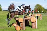 Christopher Burton (AUS) and  Cooley Lands  taking part in the cross country phase of the 2019 Mitsubishi Motors Badminton Horse Trials