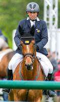Sam Griffiths and Paulank Brockagh enter the Show jumping Arena